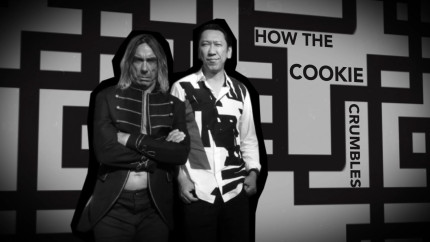 How The Cookie Crumbles (featuring Iggy Pop) - lyric video