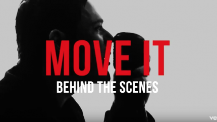 Move it - Behind The Scenes