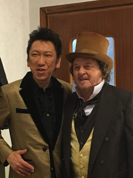 "Hotei joins Zucchero in Tokyo for ""Black Cat World Tour"""