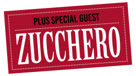 Zucchero – special guest in London and Milan in October