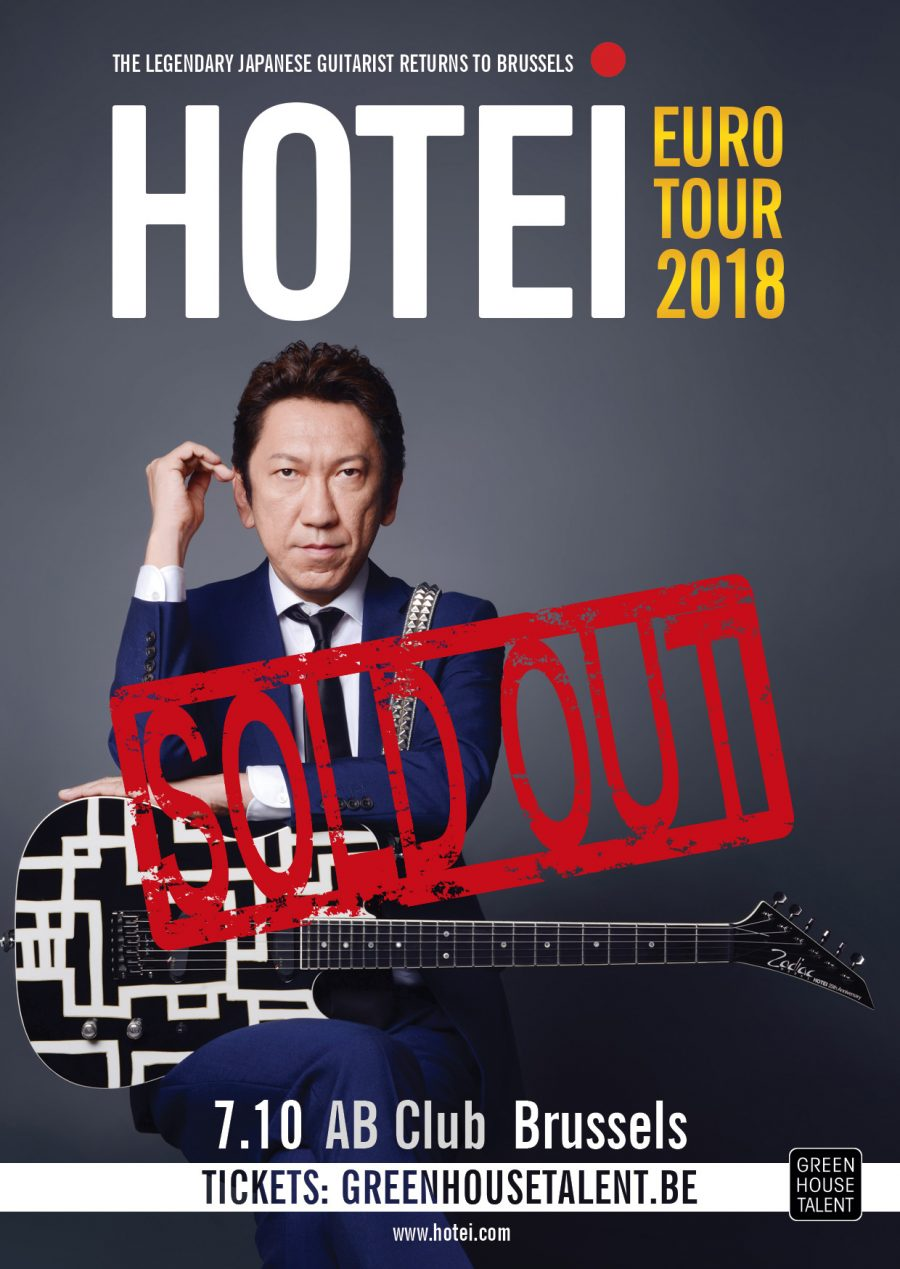 Euro Tour 2018 starts with SOLD OUT show in Brussels