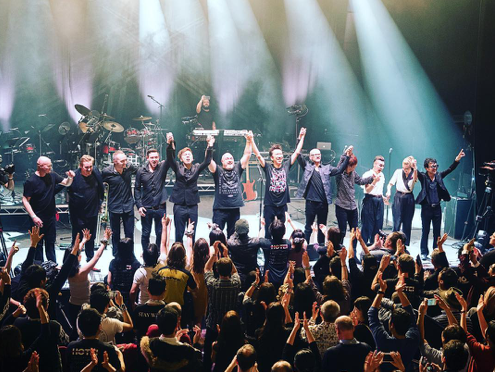 Euro Tour 2018 finishes with spectacular performance at Shepherd's Bush Empire in London