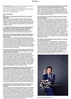 BCM Magazine Interview, Belgium
