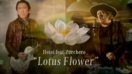 Zucchero talks about the collaboration with Hotei.