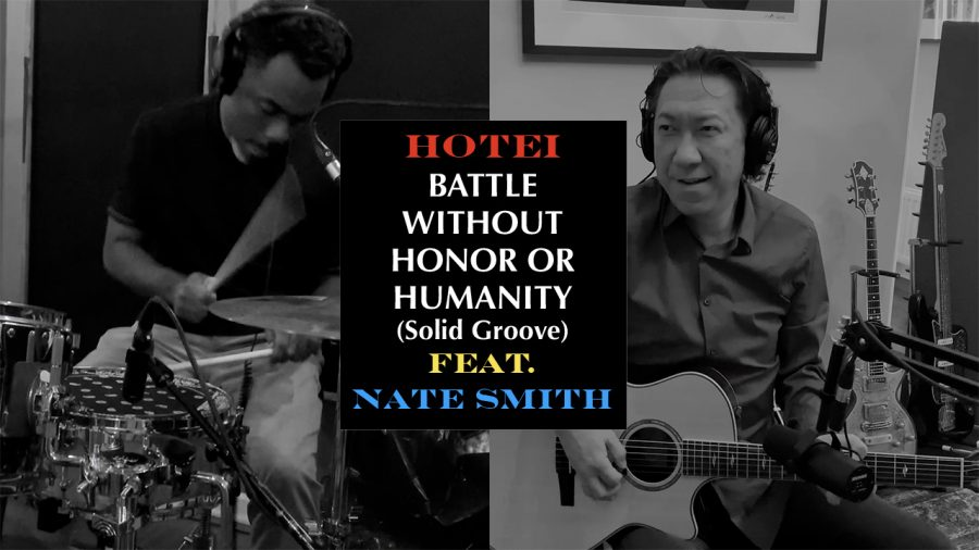 "The footage of  ""BATTLE WITHOUT HONOR OR HUMANITY (Solid Groove) feat. Nate Smith"" is unleashed."
