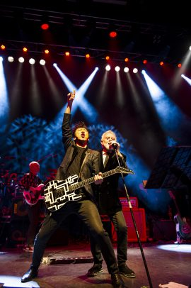 Hotei joins Roger Taylor from Queen and all star band on stage at SAS Band shows in UK