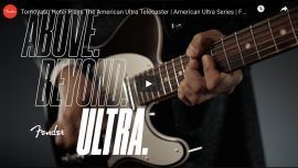 """AMERICAN ULTRA"" new guitar launch by Fender Guitars"